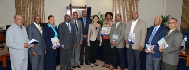 Secretary_Generals_presented_with_copy_of_Governing_Program.jpg