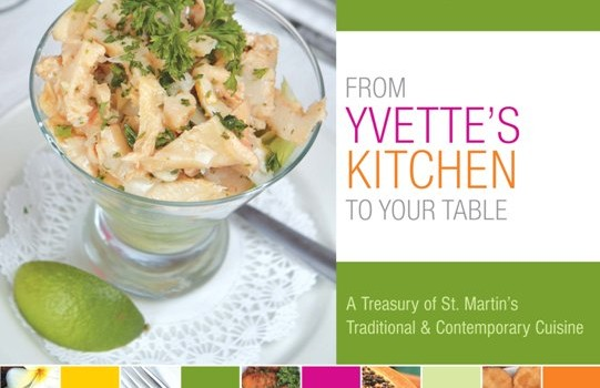 Best-selling Yvette's cookbook just released its 4th printing
