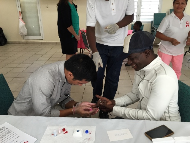 70 people tested at hiv testing day - Test hiv periodo finestra 2015 ...