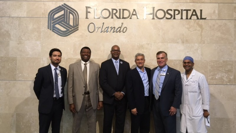 UP parliamentarians hold talks with Florida Adventist Hospital