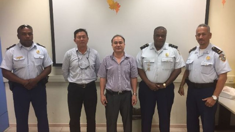 Police meet members of the Chinese Community