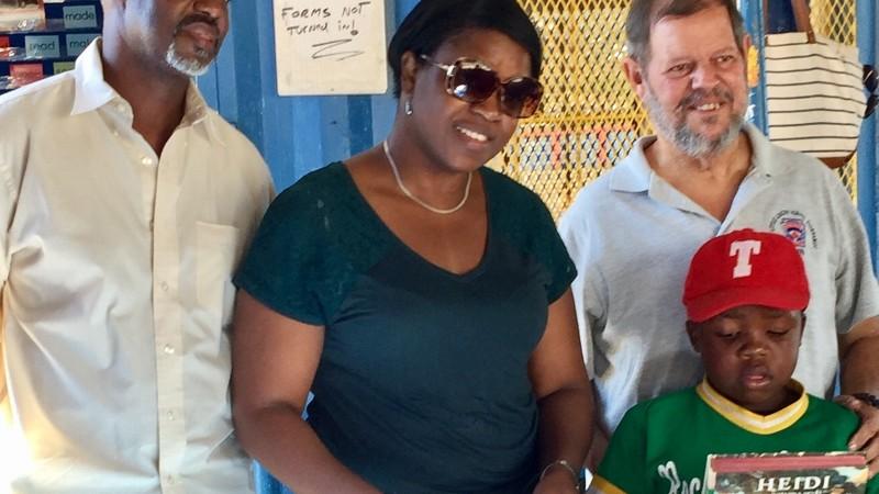 Former MP Marlin-Romeo commends Mr. & Mrs. Burnett