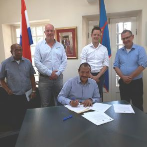 STATIA GOVERNMENT SIGNS MOU WITH WOONLINIE and BZK TO ESTABLISH ADDITIONAL SOCIAL HOUSING