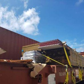 Materialnan di konstrukshon i artíkulonan duradero a yega pa Saba