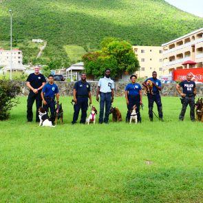 Justice K-9 undergo recertification