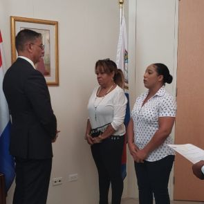 Two new KPSM police personnel sworn