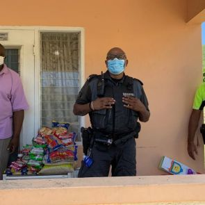 Confiscated goods donated to three churches within the community.