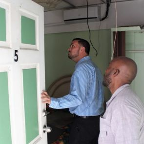 Tourism Minister tours damaged  properties with SMSPA President