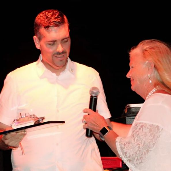 Minister Johnson receives recognition from FCCA President Michele Paige