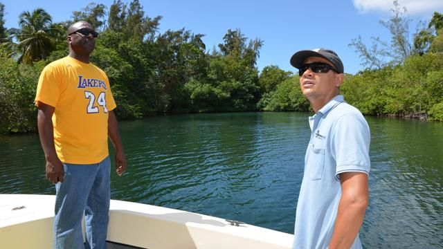 MinVROMI_ML_Mullet_Pond_and_Simpson_Bay_Lagoon_Minister_Lake_and_Nature_Fd_Manager_Tadzio_Bervoets.JPG
