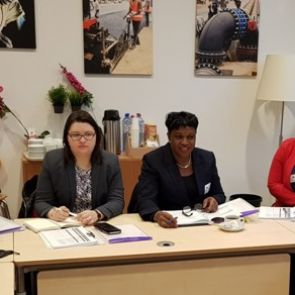 Prime Minister Leona Romeo-Marlin attends  1st day of meetings before the 16th OCTA–EU Forum