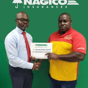 NAGICO sponsors St. Maarten Sports & Olympic Federation (SMSOF) to Central American Games