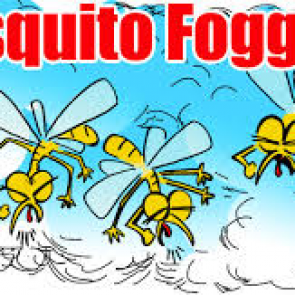 Mosquito fogging schedule Monday to Thursday