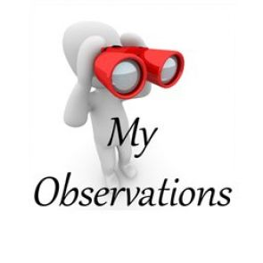Observations by mr.Edwin James