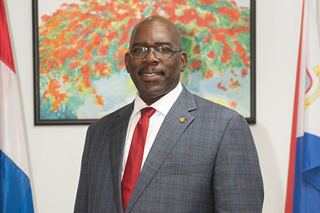 Minister Samuel extends best wishes to exam students.