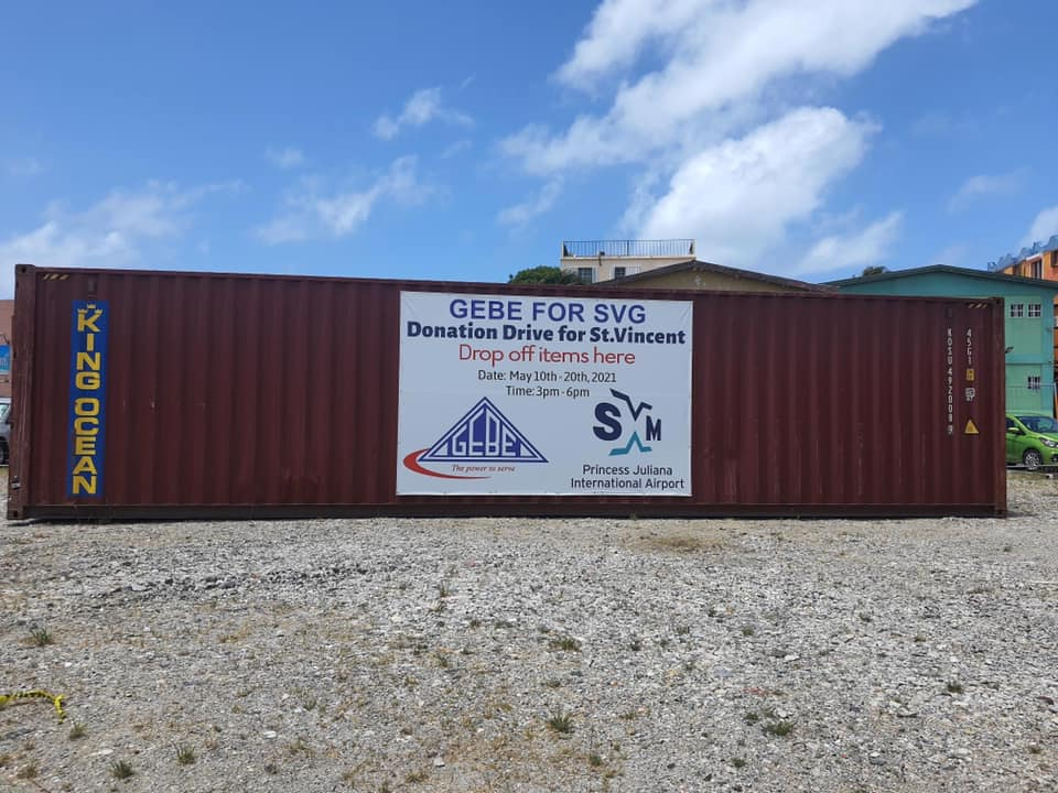 NV GEBE and PJIAE N.V. collaborate to support victims of volcanic eruptions in St. Vincent and Grenadines