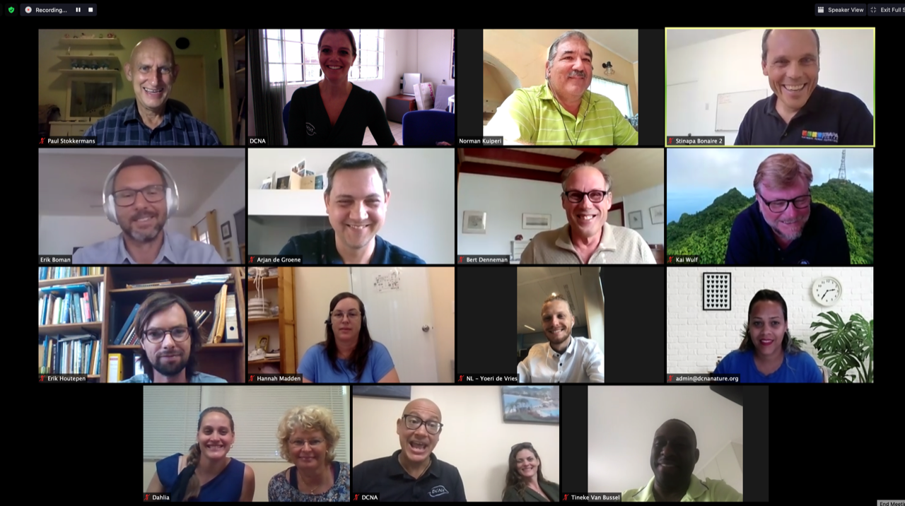 Dutch Caribbean Nature Alliance (DCNA)'s Board Meeting: strategizing nature conservation